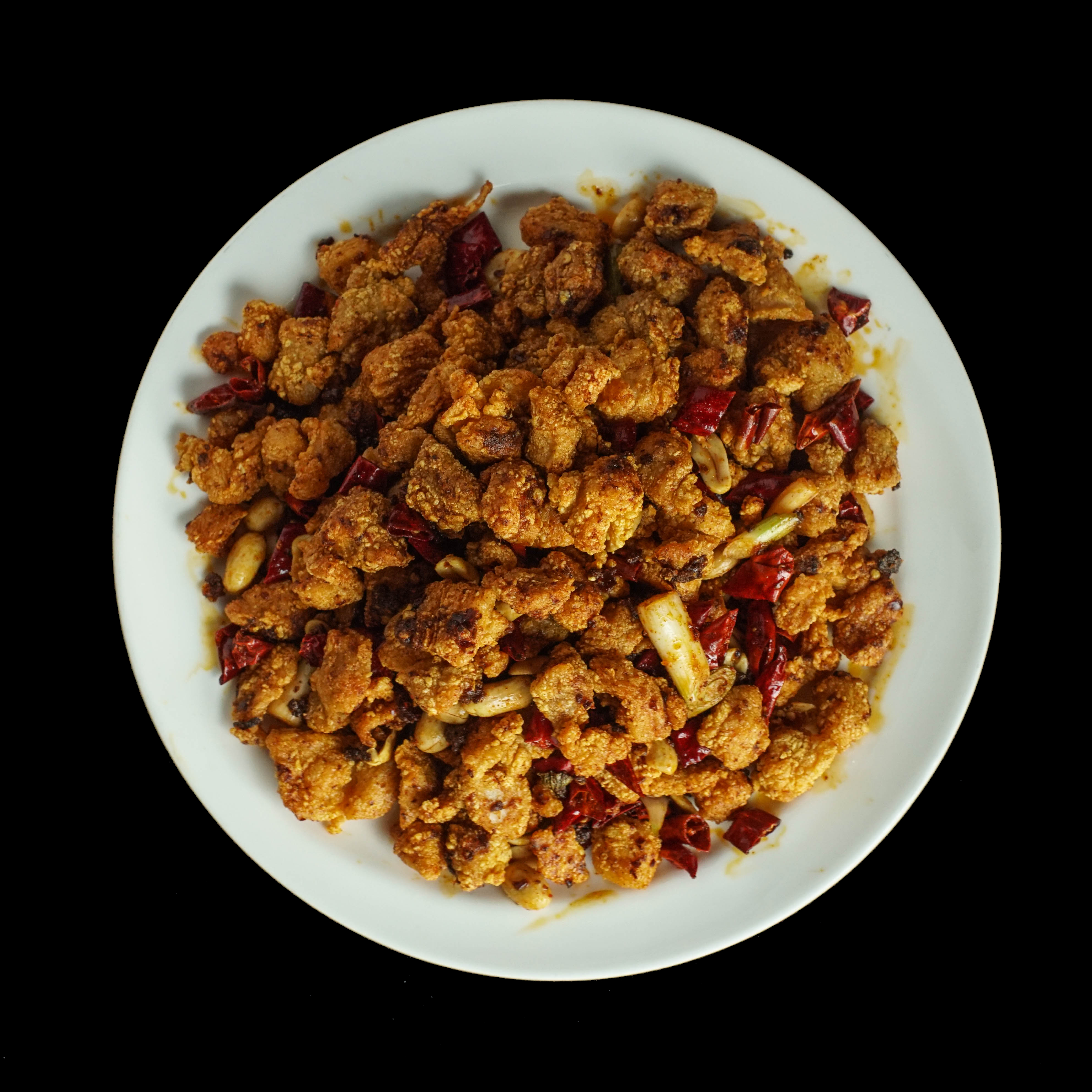 85. 干爆辣子鸡 Hot Chili Popcorn Deep Fried Chicken Image