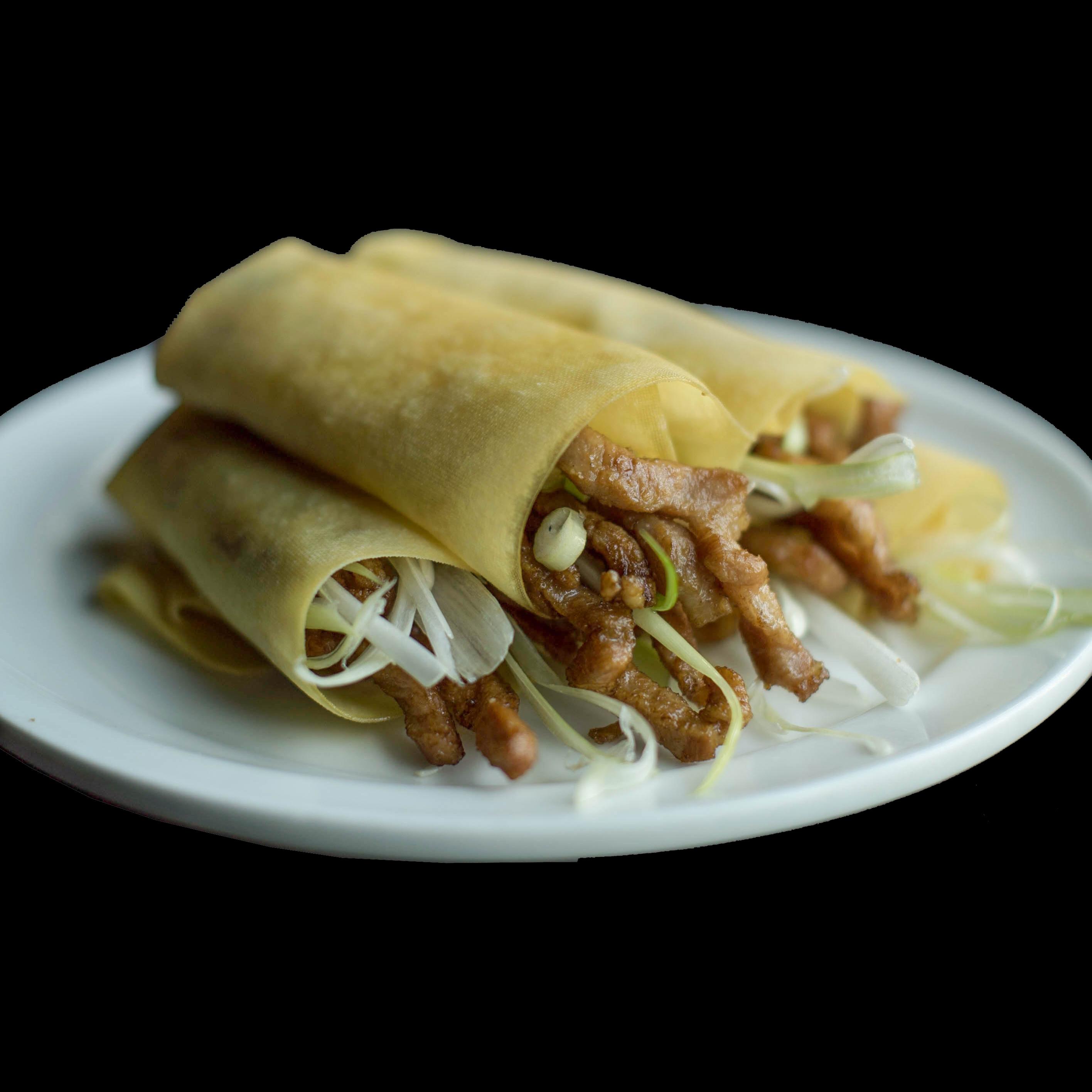 41. 京酱肉丝配豆皮 Beijing Sauce Shredded Pork Image
