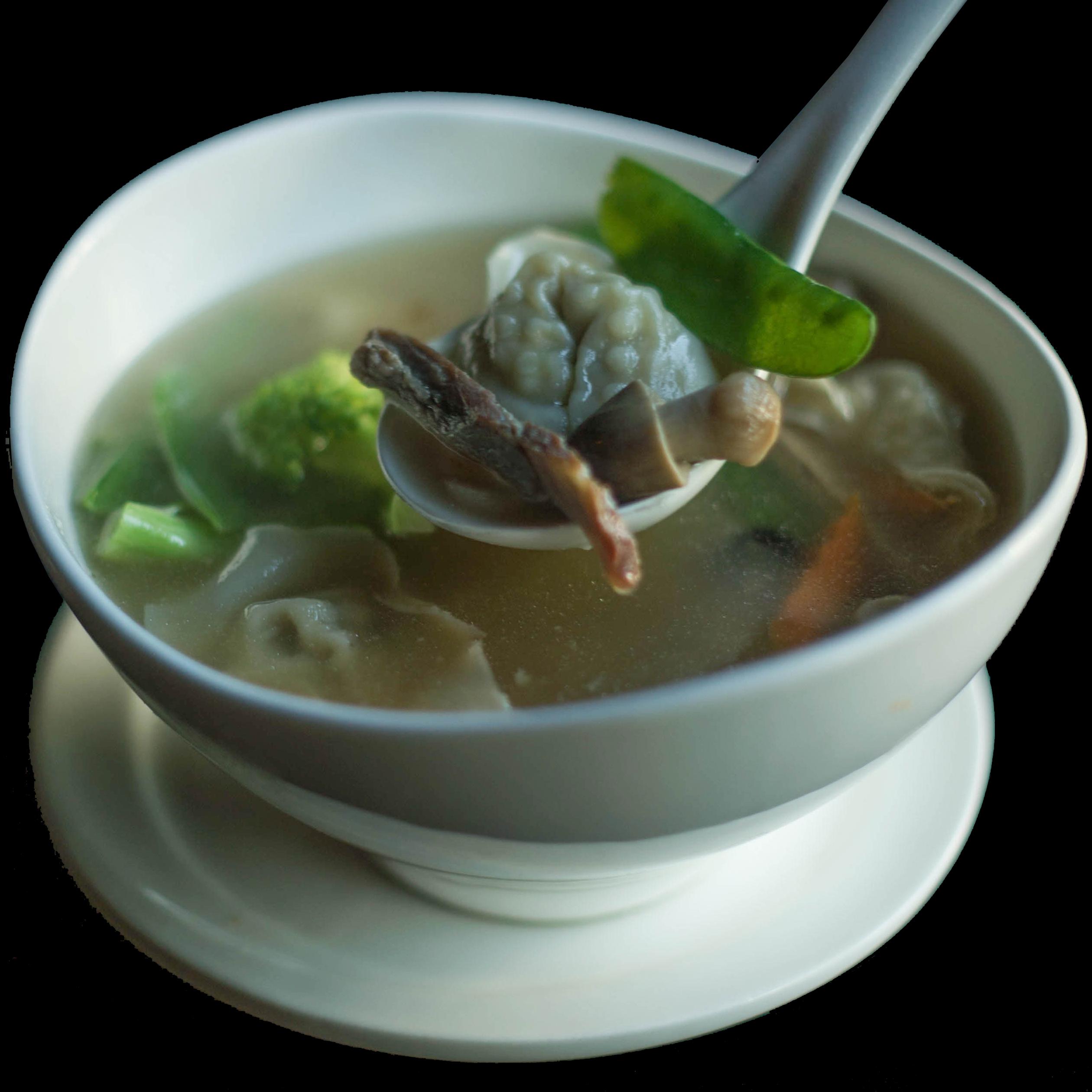50. 窝云吞汤 House Special Wonton Soup