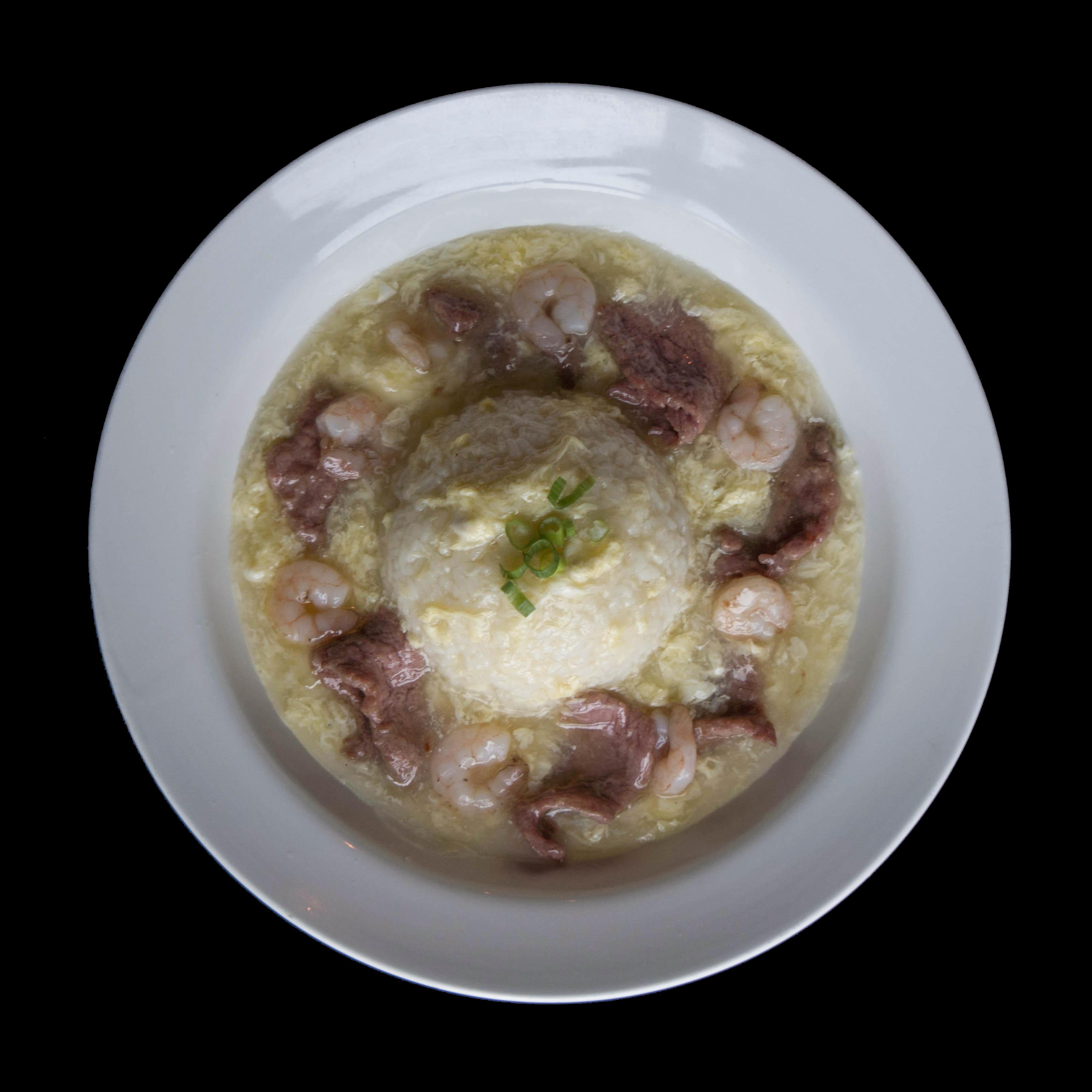 104. 招牌滑蛋烩饭 House Special Combination Scrambled Egg Stew Rice Image