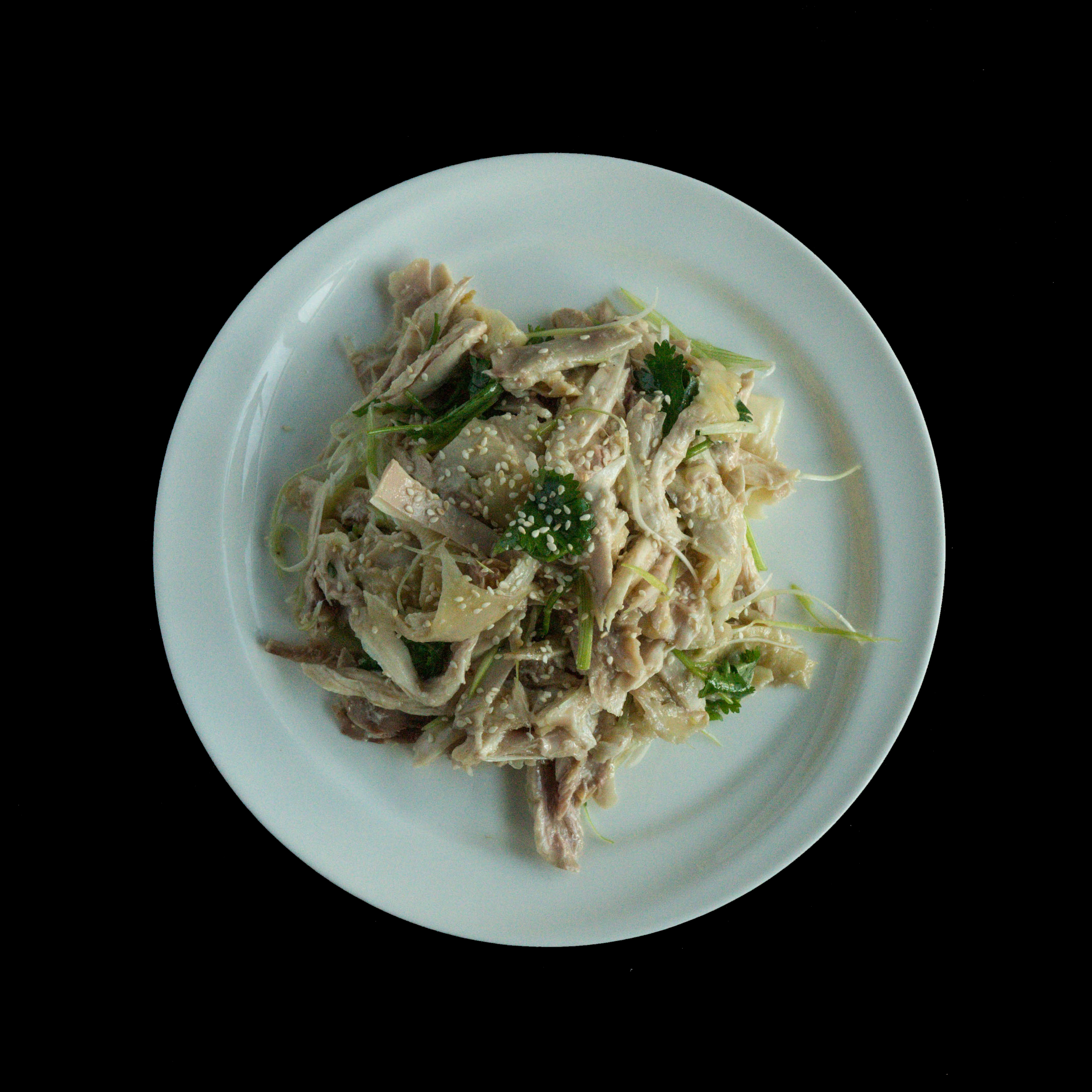 55. 手撕盐焗鸡 Shredded Salty Ginger Chicken Image