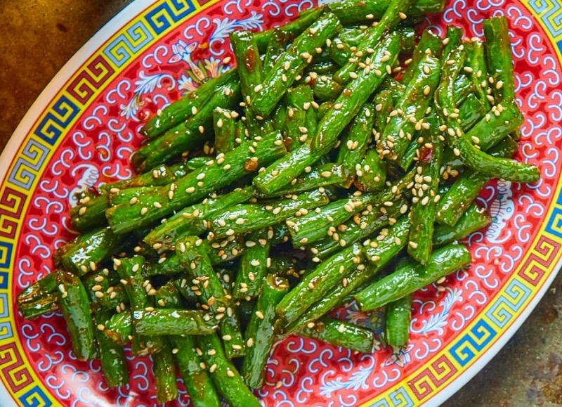 Fire Cracker Green Beans Image
