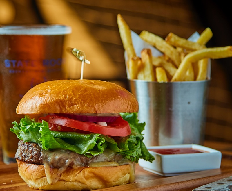 1/2 lb. Prather Ranch Dry Aged Ground Beef Burger Image