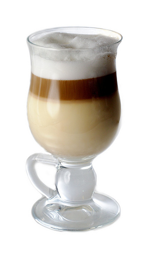 Pumpkin Pie Latte Macchiato (Hot or Iced)