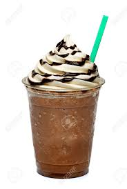 Double Chocolate Chip Frozen Hot Chocolate