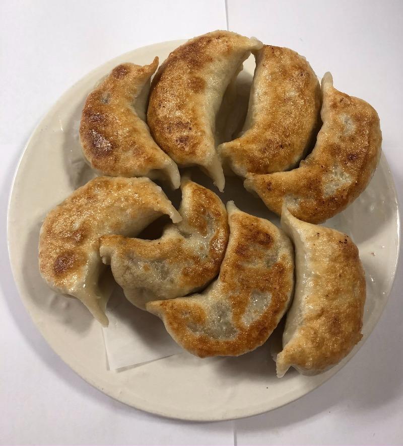 Fried Pork Dumplings (8) 锅贴