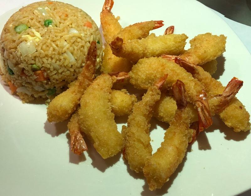 Fried Rice & Fried Baby Shrimp (14) (炒饭&炸虾)