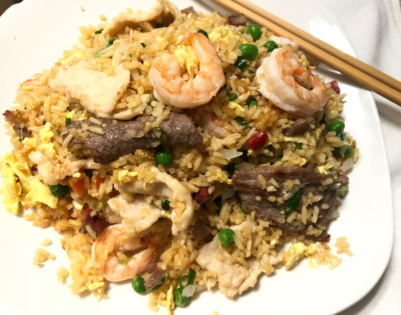 House Special Fried Rice 本楼炒饭