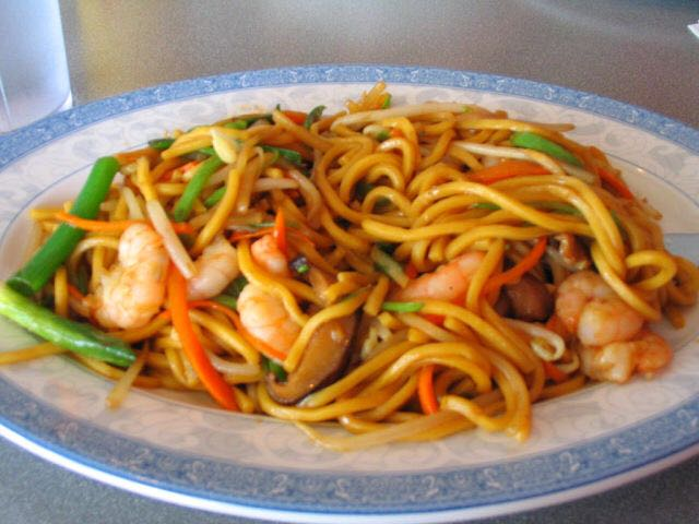 Shrimp Lo Mein 虾捞面 Image