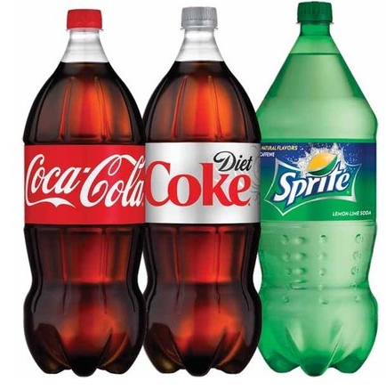 Drinks 2 Liter Sodas Image