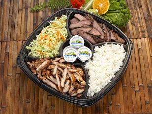 Lil Bro Party Pack (serves 5) with rice & salad Image