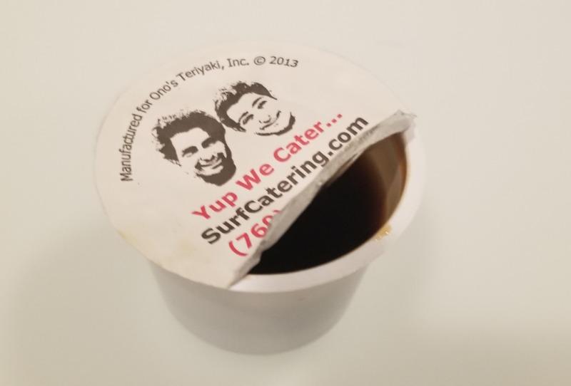 1 oz cup Extra Teriyaki Sauce