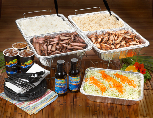 Big Bro Buffet (serves 10) with rice & salad Image