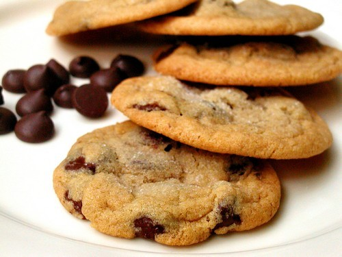 Dozen Chocolate Chip Cookies Image