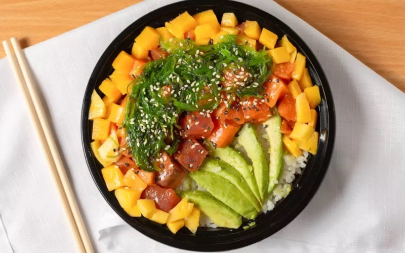 House Poke Bowl