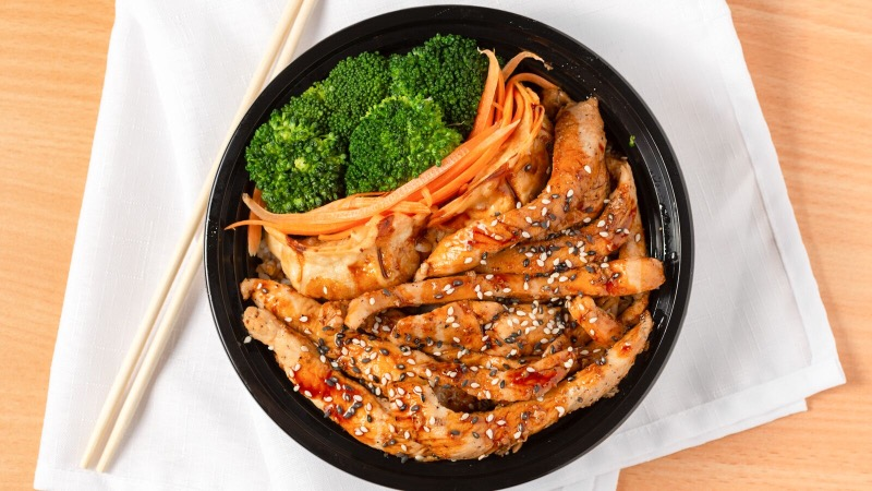 Teriyaki Chicken Bowl Image