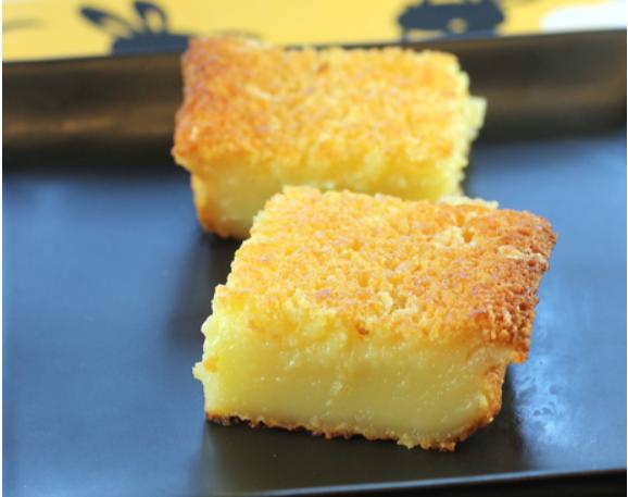 Japanese Butter Mochi