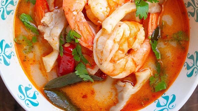 Seafood Lemongrass Soup
