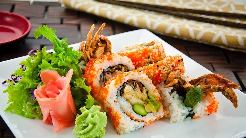 Spider Roll Image