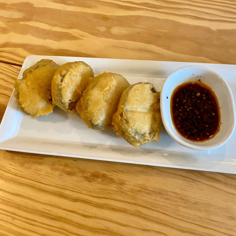 Pork-Stuffed Fried Chinese Eggplant