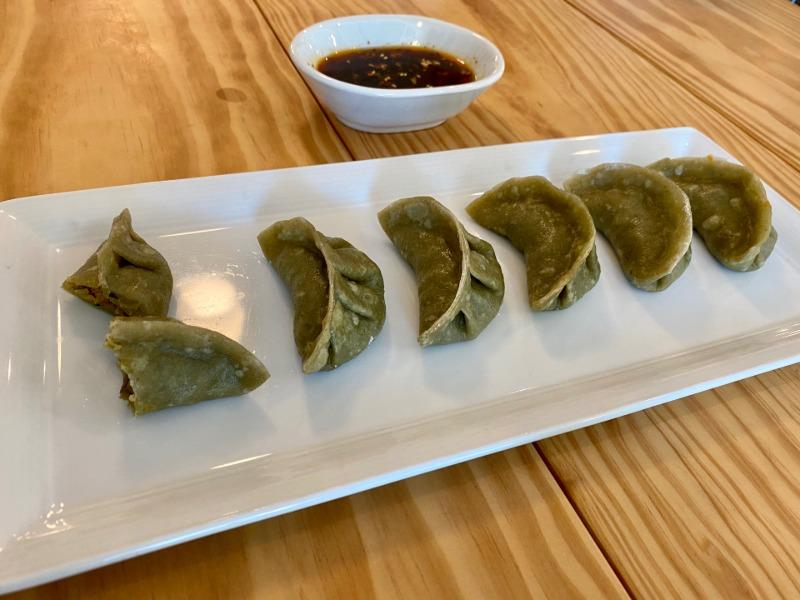 Vegan Steamed Dumplings Image