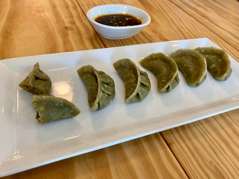 Vegan Steamed Dumplings Image