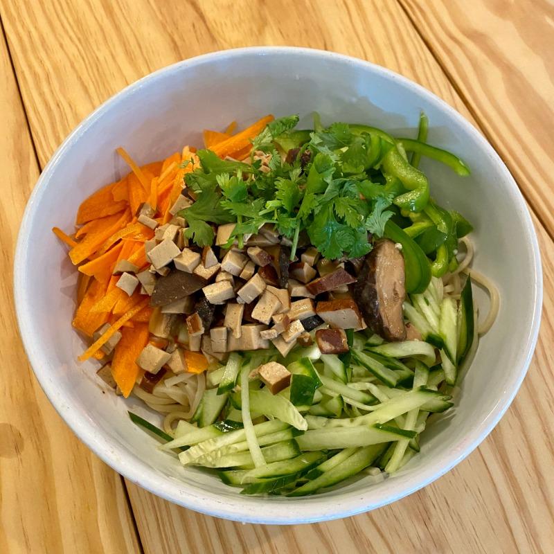 Vegan Zha Jiang Mian Image