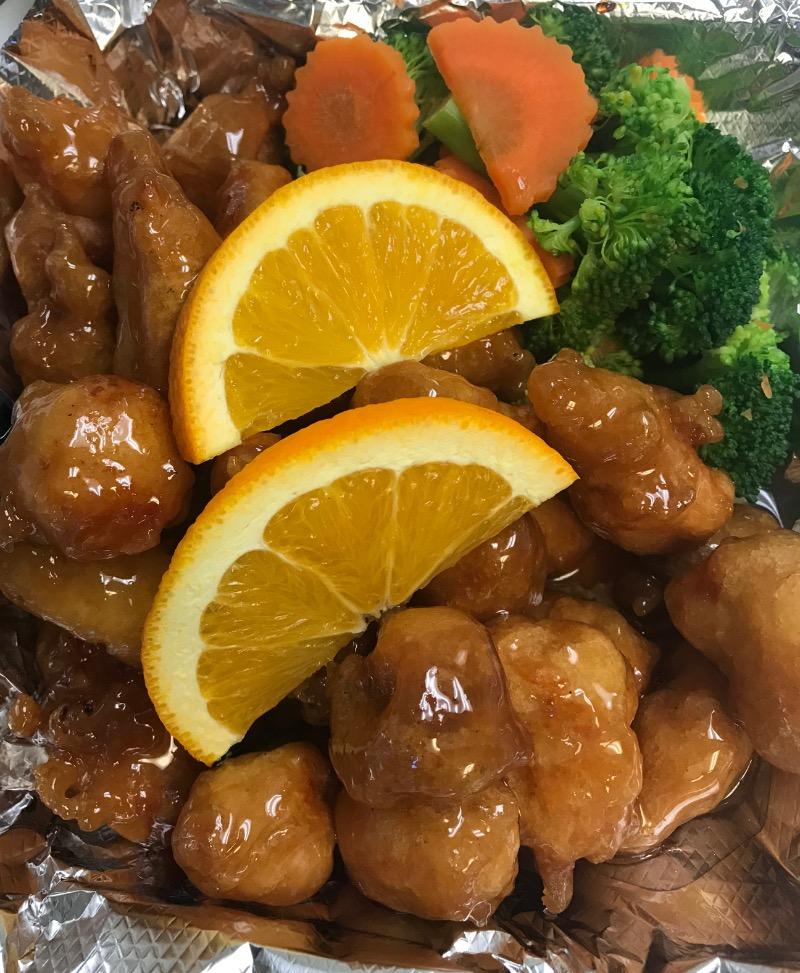 A. Orange Chicken Image