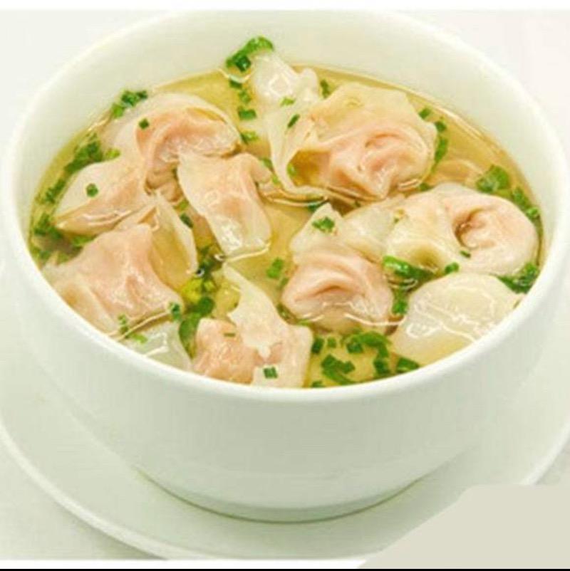 szechuan house  iowa city  紫菜小混沌 nori wonton soup  soup