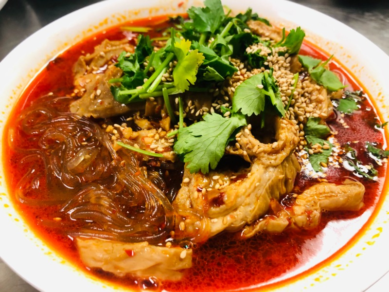 肥肠酸辣粉 Intestine Hot and Sour Noodle Image