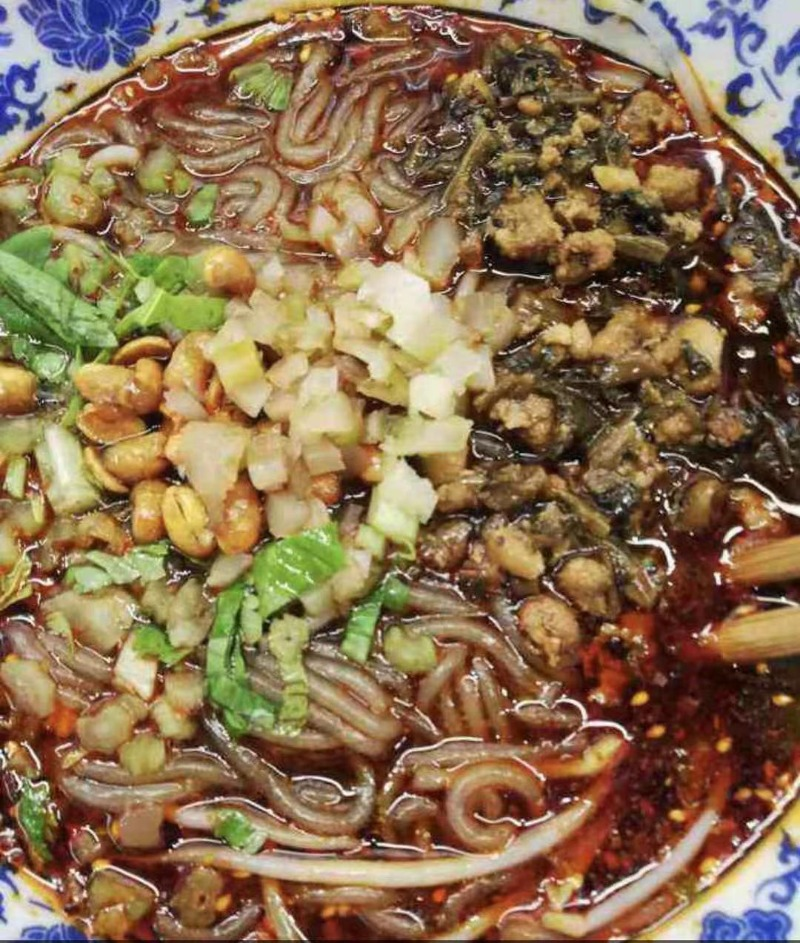 肉臊酸辣粉 Meaty Hot and Sour Noodles