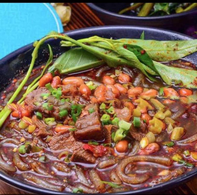 牛肉酸辣粉 Beef Hot & Sour Noodle Image