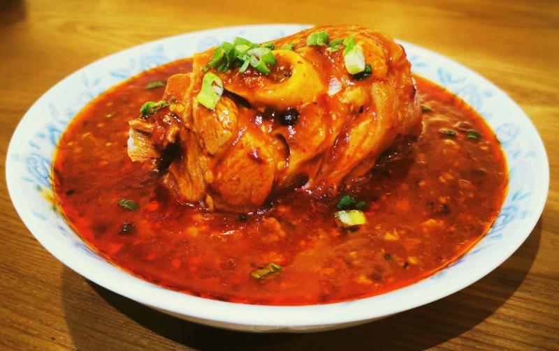 酸辣开胃啪啪肉 Sour&Spicy Mini knuckle.