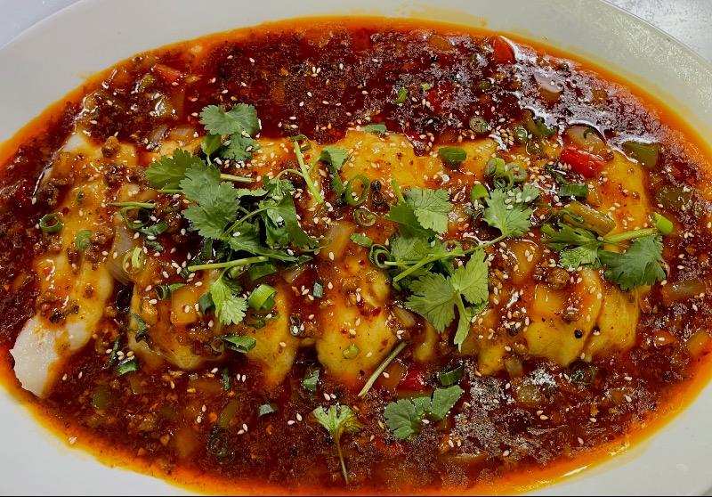 2. 馋嘴豆腐鱼 Fish Slice w. Tofu in Szechuan Sauce Image