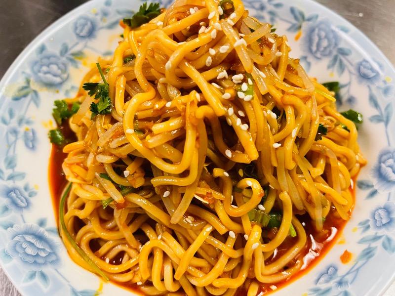 8. 四川凉面 Szechuan style cold noodles