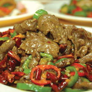 T17. Beef w. Chinese Dry Chili 辣子牛肉 Image