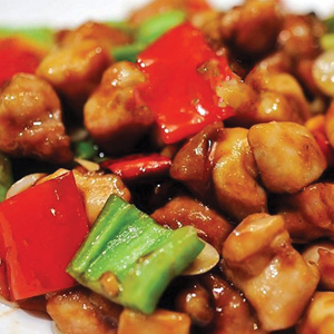 T20. Chicken w. Chinese Dry Chili 辣子雞丁 Image