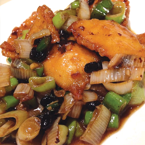 T24. Fish Filet w. Black Bean Sauce 豆豉魚片
