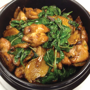 T21. Traditions 3 Cups Chicken 三杯雞 Image