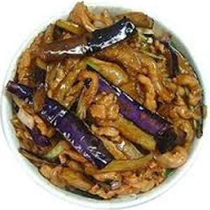 T04. Eggplant w. Shredded Pork 茄子肉 Image