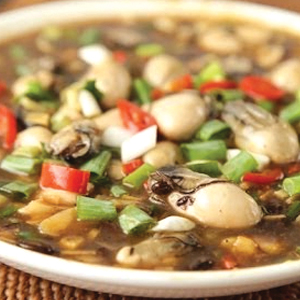 T22. Fried Oyster in Black Bean Sauce 豆豉蚵 Image