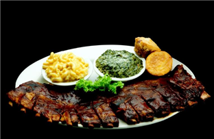 BBQ Pork Ribs (Serves 1-2)