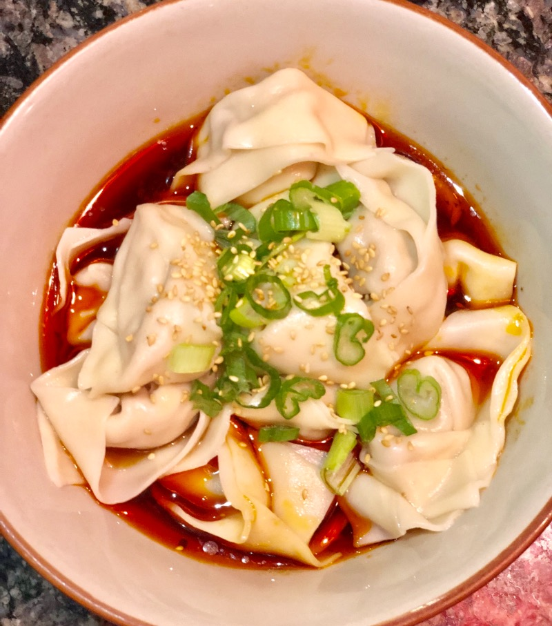 19. Pork Wonton in Spicy Sauce (12) Image