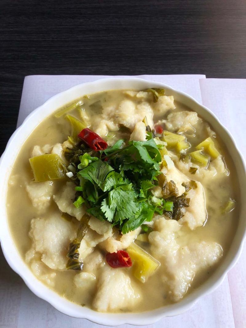7. 酸菜鱼片 Preserved Cabbage w. Fish Fillet Image