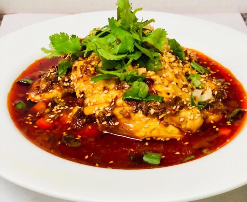 4. 口水鸡 Chicken with House Hot Oil Image