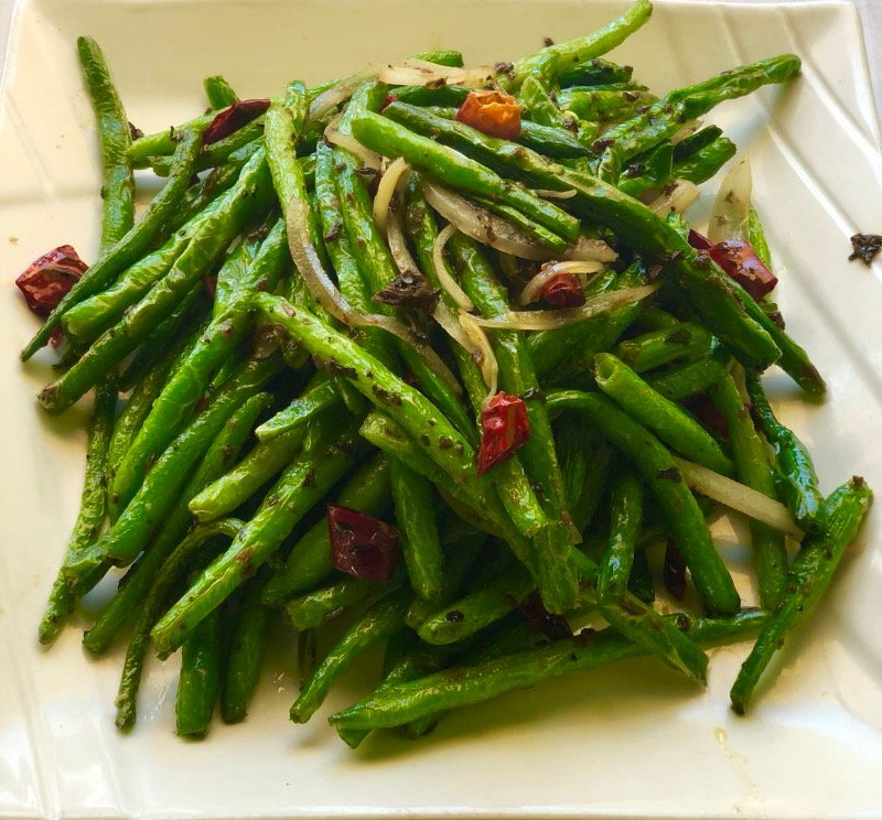 1. Dry Sauteed String Bean