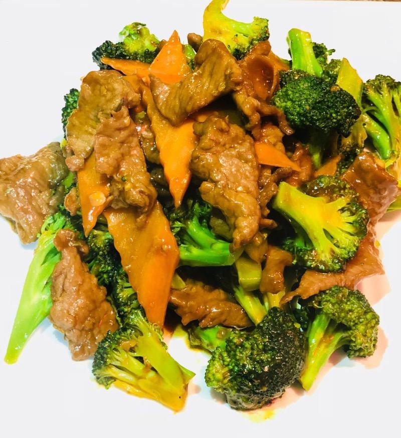 1. 芥兰牛 Beef with Broccoli Image