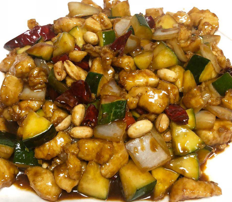 8. 宫保鸡 Kung Pao Chicken Image