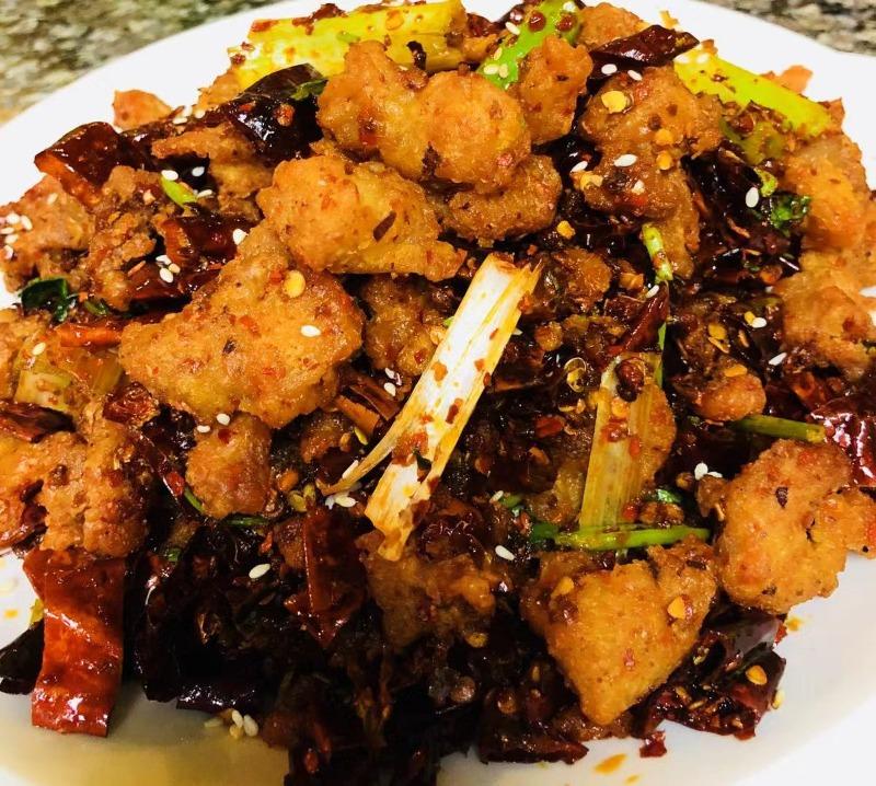 7. 重庆辣子鸡 Chong Qing Special Chicken