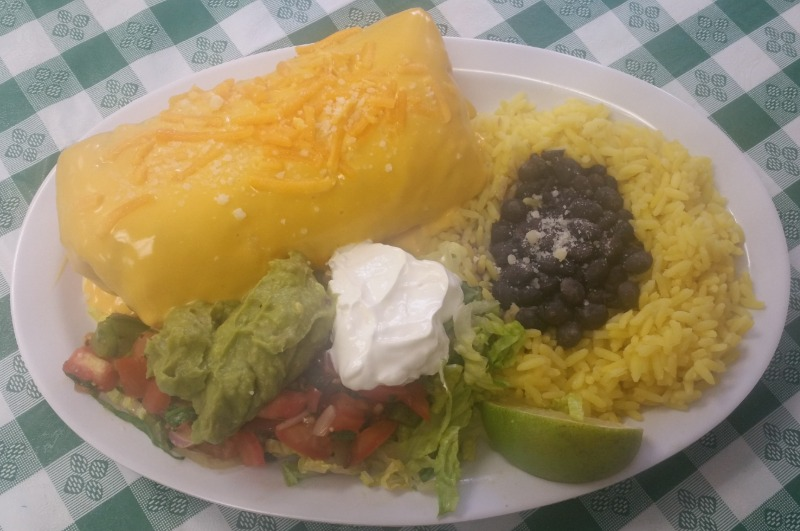 RIBEYE Steak CHIMICHANGA w/ Side RICE/BEANS Image